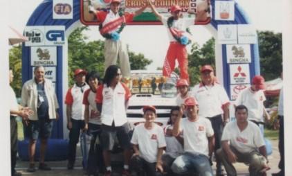 2007 AZTEX Thailand Cross Country Toyota Team